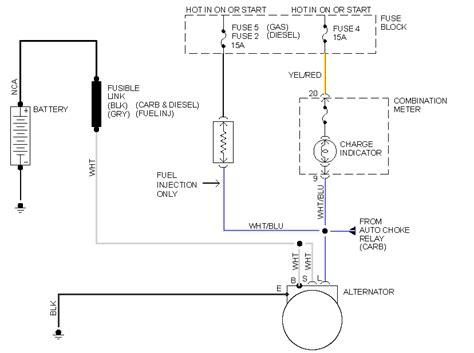 wiring diagram   nissan  pickup