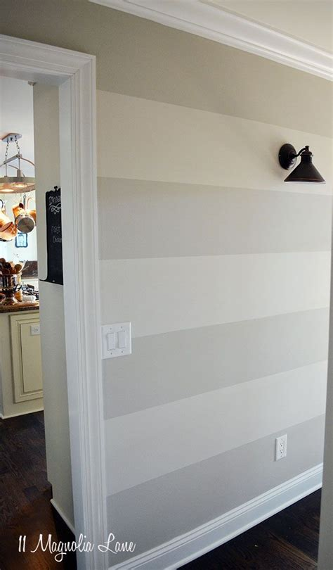 Wand Streichen Streifen Horizontal by 25 Best Ideas About Entryway Paint Colors On