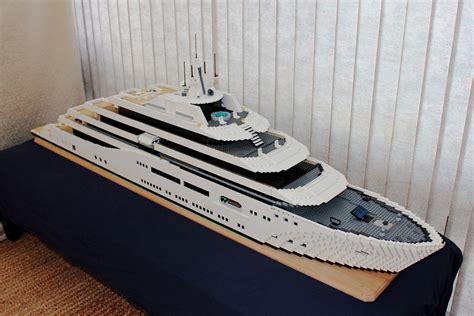 dining room lego mega yacht keith orlando