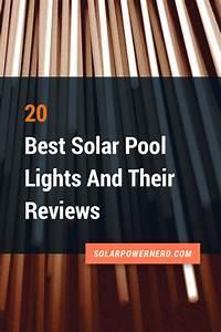 Mr Watt Solar Pool Light Solar Power Pool Lights Are A Versatile Way To Brighten Up