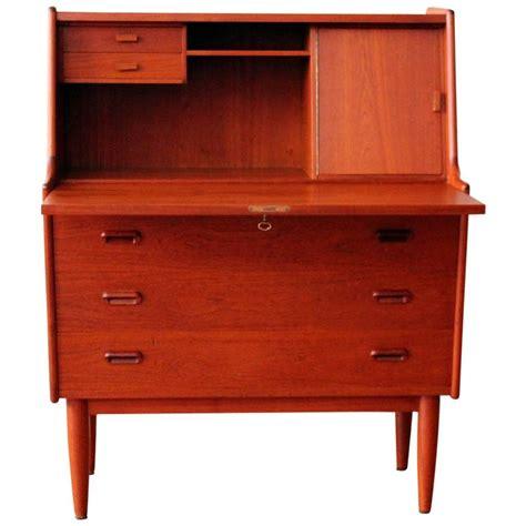 drop leaf secretary desk danish modern teak falster drop leaf secretary desk at 1stdibs