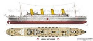 Titanic 2 Deck Plans by April 2015 Stephen Isma