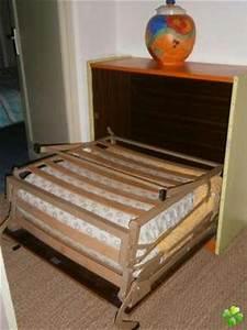 lit pliant 1 personne mobilier sur enperdresonlapin With lit meuble 1 personne