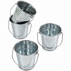 Cheap, Mini, Metal, Buckets