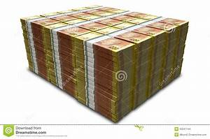 Rand Notes Pile Stock Photo - Image: 43247144