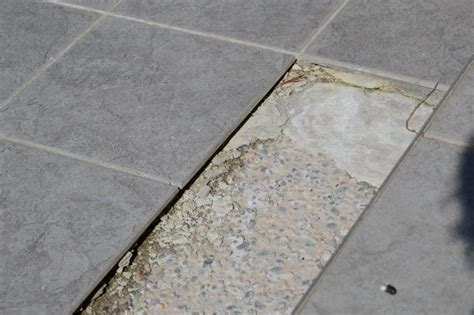 thinset thickness for porcelain tile mortar thick set tiles on outdoor concrete stairs