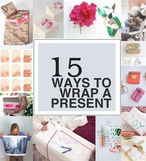 how to wrap a christmas present 15 ways to wrap a present a subtle revelry