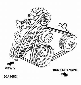 1987 Ford Aerostar Serpentine Belt Routing And Timing Belt