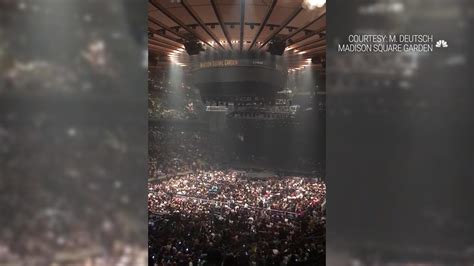 lo concert  nyc cut short  power outage nbc