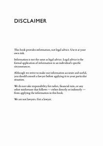 pitching hacks preview With legal advice disclaimer template