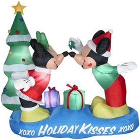mickey mouse christmas inflatable  yard decoration