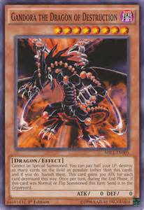gandora the dragon of destruction deck and rulings