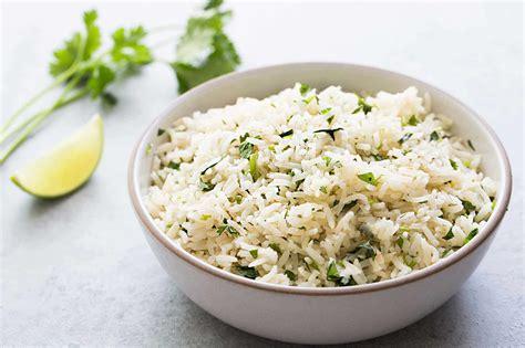 rice cuisine cilantro lime rice recipe with simplyrecipes com