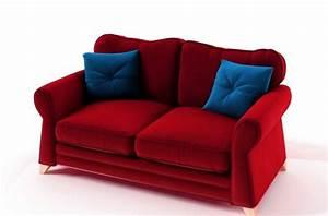 canape 2 places convertible en tissu de qualite tomy With tapis rouge avec canapé convertible prix usine