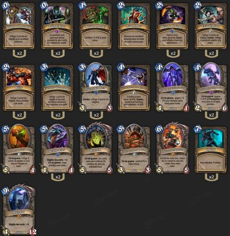 deck voleur malygos tgt maverick hearthstone heroes of