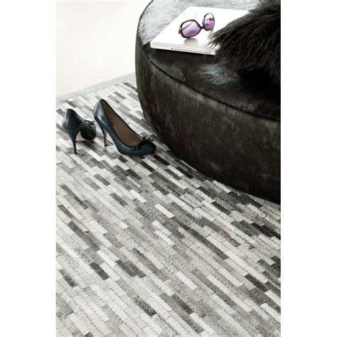 tapis haut de gamme gris argent feel par ligne pure