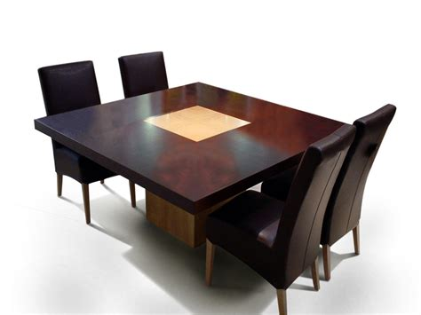 square dining tables square dining table for 4 homesfeed 2440