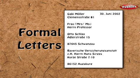 letter writing  german learn german  english