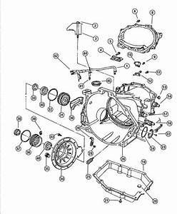 2001 Chrysler Concorde Cover  Transaxle Differential