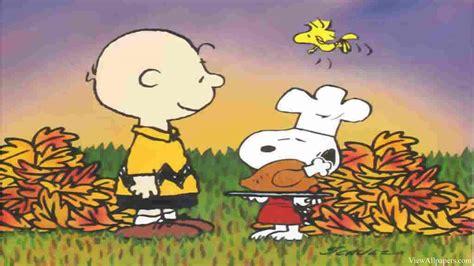 Charlie Brown Thanksgiving Desktop Wallpaper