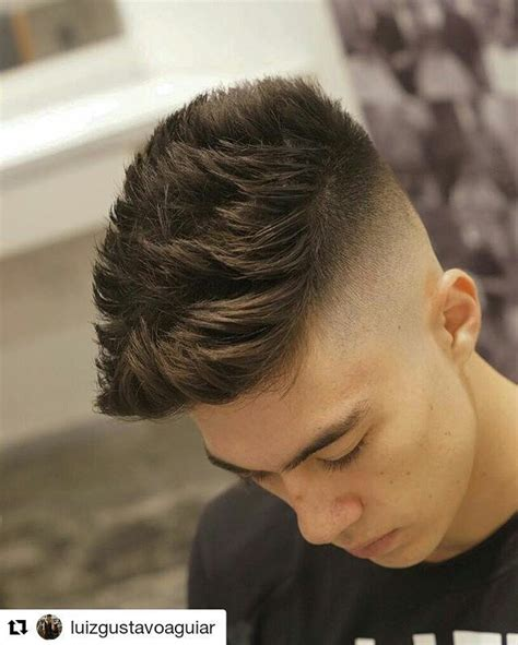 high skin fade  lots  spiky texture  length