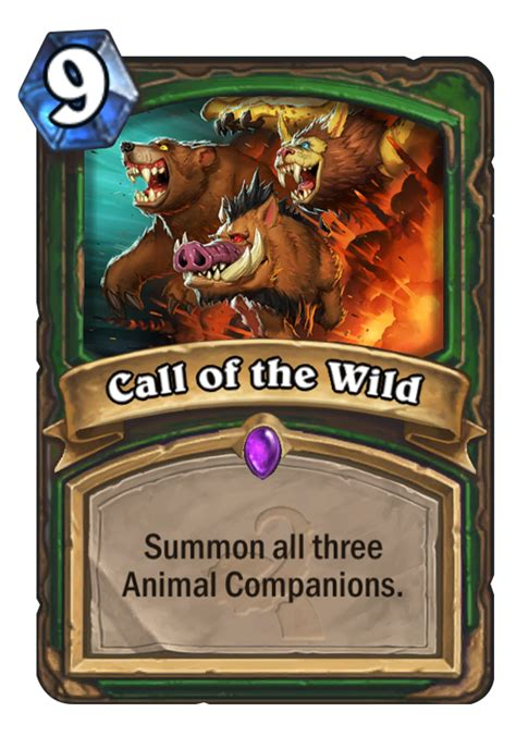 Hearthstone Beast Deck 2016 by Call Of The Hearthstone Card
