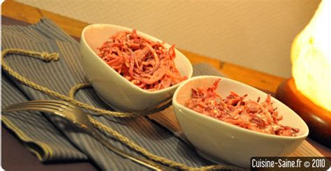 cuisine bio saine recette bio rapide coleslaw de légumes racines