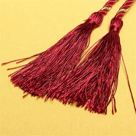 attache embrasse rideau coton decoration pompon frang 233