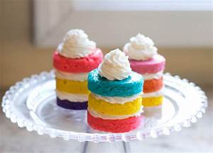 Mini Rainbow Cupcakes Pictures, Photos, and Images for ...