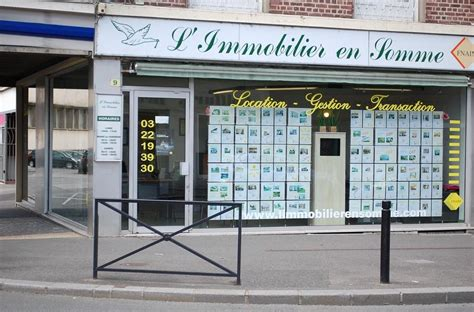 l immobilier en somme agence immobili 232 re 9 rue lingers 80100 abbeville adresse horaire