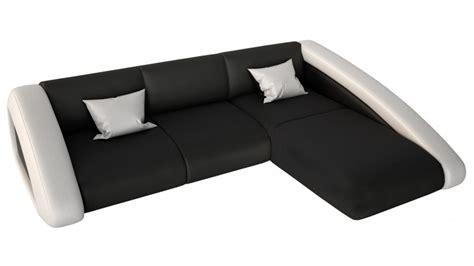 canape angle simili cuir noir canapé d 39 angle design en cuir simili cuir hays gdegdesign