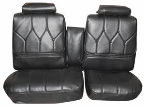 Distinctive Industries Seat Upholstery, 1971-72 Buick