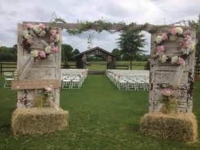 wedding arches for rent country wedding ideal weddings