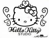 Kitty Hello Nerd Coloring Pages Glasses Drawing Printable Getcolorings Getdrawings sketch template