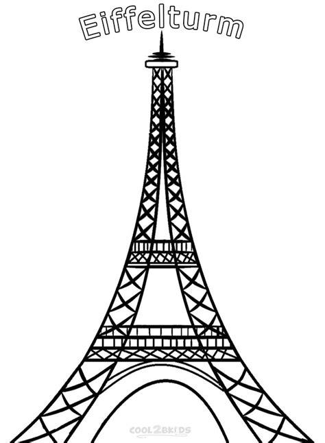 ausmalbilder eiffelturm malvorlagen kostenlos zum ausdrucken