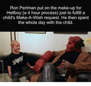 Ron Perlman Put on the Make-Up for Hellboy a 4 Hour ...