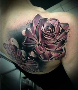 Roses Tattoo on Shoulder Blade | Best Tattoo Ideas Gallery
