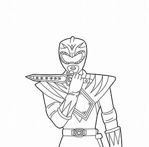 Green Power Ranger - Free Coloring Pages