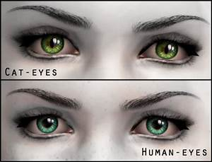 Mod The Sims - Intensive eyes - 2 versions: Cat & Human