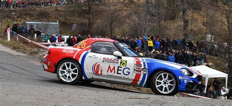 rallye  de corse  teams  board abarth  rally