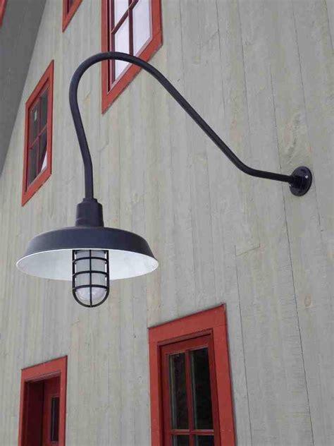gooseneck outdoor lighting fixtures decor ideas