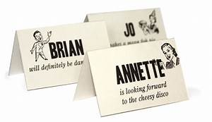 fun wedding reception place cards invitationstudioblog With images of wedding cards with name