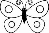 Butterfly Coloring Pages Simple Drawing Preschool Colouring Easy Colour Step Sits Related Drawings Clipart Clipartmag Printable Getdrawings Ly Huba Amazing sketch template