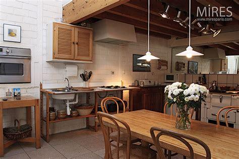 cuisine sous mezzanine  mires paris