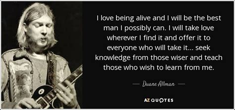 Top 6 Quotes By Duane Allman
