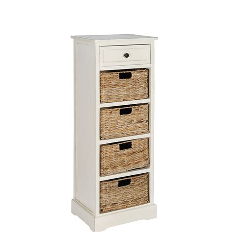 skinny cabinet with drawers tall narrow storage unit with baskets shoe organizers