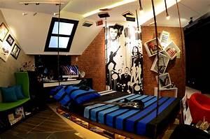 bedroom ideas for guys elegant modern teenage boys room With teenage room decor themes for teenage boy room