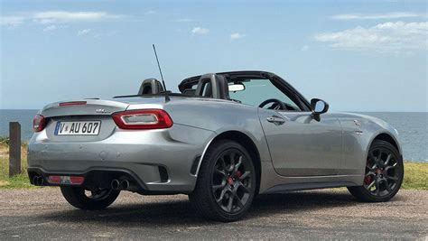 abarth  spider manual convertible  review carsguide