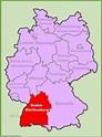 Baden-Württemberg Maps | Germany | Maps of Baden-Württemberg