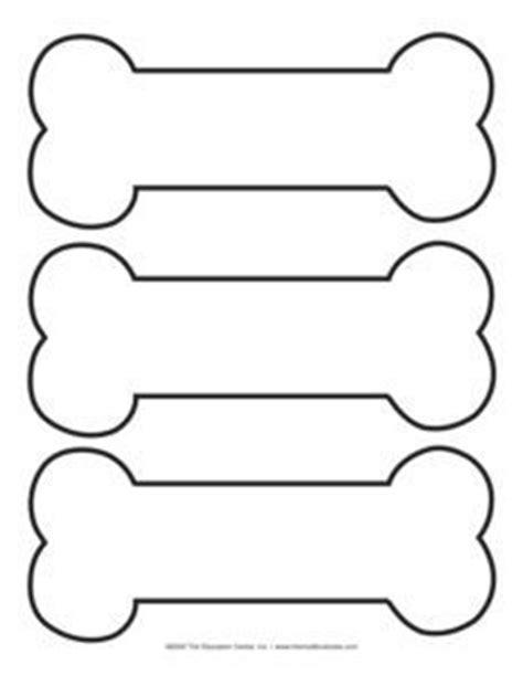 dog bone template printable  dogs pinterest